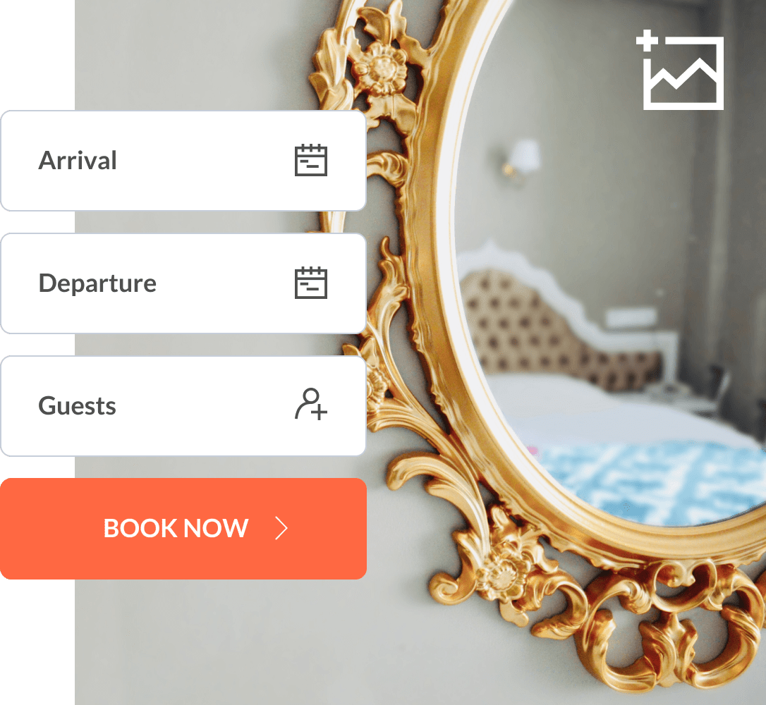 Use a booking engine to get more direct bookings
