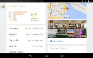 google maps small hotel news