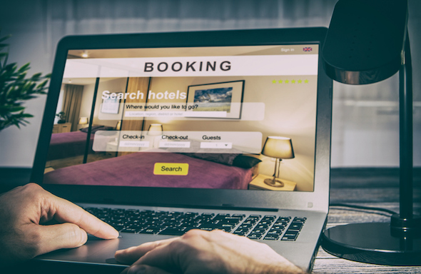 B&B receiving more direct bookings on their website
