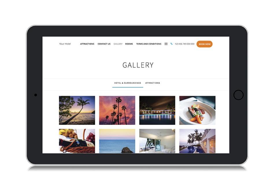 bnb website gallery