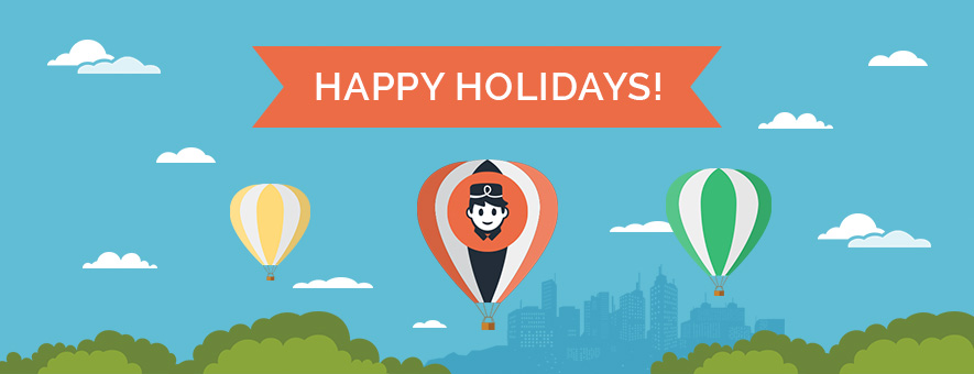 happy holidays from little hotelier